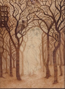 underpainting trees 001